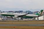 あしゅーさんが、福岡空港で撮影したエバー航空 A330-302の航空フォト(飛行機 写真・画像)
