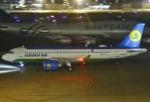 あしゅーさんが、福岡空港で撮影したウズベキスタン航空 A320-251Nの航空フォト(飛行機 写真・画像)