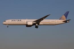 TIA spotterさんが、成田国際空港で撮影したユナイテッド航空 787-10の航空フォト(飛行機 写真・画像)