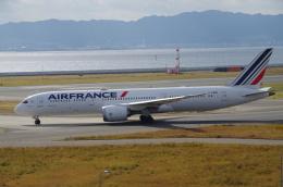 SSB46さんが、関西国際空港で撮影したエールフランス航空 787-9の航空フォト(飛行機 写真・画像)