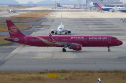 SSB46さんが、関西国際空港で撮影した吉祥航空 A321-211の航空フォト(飛行機 写真・画像)