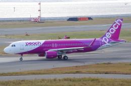 SSB46さんが、関西国際空港で撮影したピーチ A320-214の航空フォト(飛行機 写真・画像)