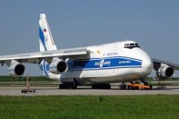 chrisshoさんが、ライプツィヒ・ハレ空港で撮影したヴォルガ・ドニエプル航空 An-124-100 Ruslanの航空フォト(飛行機 写真・画像)