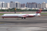 kinsanさんが、高雄国際空港で撮影した遠東航空 MD-83 (DC-9-83)の航空フォト(飛行機 写真・画像)