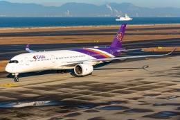 航空フォト:HS-THM タイ国際航空 A350-900