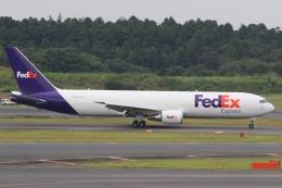 Hiro-hiroさんが、成田国際空港で撮影したフェデックス・エクスプレス 767-3S2F/ERの航空フォト(飛行機 写真・画像)