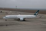 ショウさんが、中部国際空港で撮影したキャセイパシフィック航空 A350-941の航空フォト(飛行機 写真・画像)