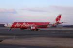 北の熊さんが、新千歳空港で撮影したエアアジア・エックス A330-343Eの航空フォト(飛行機 写真・画像)