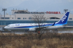 Keiyon✈️さんが、富山空港で撮影した全日空 737-881の航空フォト(飛行機 写真・画像)