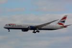 banshee02さんが、成田国際空港で撮影したブリティッシュ・エアウェイズ 787-9の航空フォト(飛行機 写真・画像)