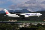 HLeeさんが、台北松山空港で撮影した日本航空 777-246/ERの航空フォト(飛行機 写真・画像)