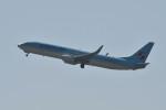 kuro2059さんが、中部国際空港で撮影した大韓航空 737-9B5/ER の航空フォト(飛行機 写真・画像)