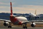 take_2014さんが、成田国際空港で撮影したタイ・エアアジア・エックス A330-343Xの航空フォト(飛行機 写真・画像)