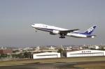 ふみたびさんが、宮崎空港で撮影した全日空 777-281/ERの航空フォト(飛行機 写真・画像)