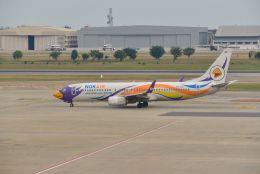 kotaちゃんさんが、ドンムアン空港で撮影したノックエア 737-88Lの航空フォト(飛行機 写真・画像)