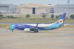 kotaちゃんさんが、ドンムアン空港で撮影したノックエア 737-8FZの航空フォト(飛行機 写真・画像)
