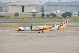 kotaちゃんさんが、ドンムアン空港で撮影したノックエア DHC-8-402Q Dash 8の航空フォト(飛行機 写真・画像)