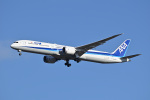 183keihozonkaiさんが、成田国際空港で撮影した全日空 787-10の航空フォト(飛行機 写真・画像)