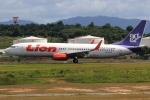 ★azusa★さんが、クアラルンプール国際空港で撮影したライオン・エア 737-8GPの航空フォト(飛行機 写真・画像)