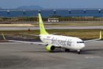 セブンさんが、那覇空港で撮影したソラシド エア 737-81Dの航空フォト(飛行機 写真・画像)