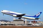 セブンさんが、伊丹空港で撮影した全日空 767-381の航空フォト(飛行機 写真・画像)