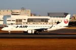 セブンさんが、伊丹空港で撮影したジェイ・エア ERJ-190-100(ERJ-190STD)の航空フォト(飛行機 写真・画像)