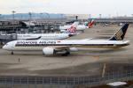 セブンさんが、関西国際空港で撮影したシンガポール航空 787-10の航空フォト(飛行機 写真・画像)
