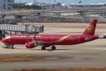 セブンさんが、関西国際空港で撮影した吉祥航空 A321-211の航空フォト(飛行機 写真・画像)