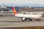 セブンさんが、関西国際空港で撮影した天津航空 A330-343Xの航空フォト(飛行機 写真・画像)
