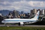kikiさんが、台北松山空港で撮影した中華民国空軍 737-8ARの航空フォト(飛行機 写真・画像)