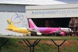 ★azusa★さんが、クアラルンプール国際空港で撮影したDAEキャピタル A320-214の航空フォト(飛行機 写真・画像)