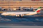 Ariesさんが、羽田空港で撮影したイラン・イスラム共和国政府 A340-313Xの航空フォト(飛行機 写真・画像)
