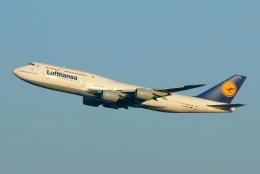 航空フォト:D-ABYS ルフトハンザドイツ航空 747-8