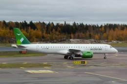 panchiさんが、ヘルシンキ空港で撮影したヴィデロー航空 ERJ-190-300 STD (E190-E2)の航空フォト(飛行機 写真・画像)