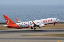 blowgunさんが、中部国際空港で撮影したチェジュ航空 737-82Rの航空フォト(飛行機 写真・画像)
