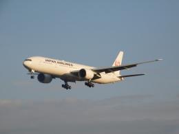 京成本線沿線民(KS3035F)さんが、成田国際空港で撮影した日本航空 777-346/ERの航空フォト(飛行機 写真・画像)
