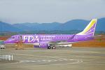 ちゃぽんさんが、静岡空港で撮影したフジドリームエアラインズ ERJ-170-200 (ERJ-175STD)の航空フォト(飛行機 写真・画像)