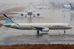 セブンさんが、関西国際空港で撮影したエアプサン A321-231の航空フォト(飛行機 写真・画像)