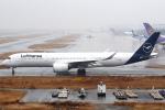 セブンさんが、関西国際空港で撮影したルフトハンザドイツ航空 A350-941XWBの航空フォト(飛行機 写真・画像)