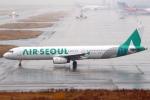 セブンさんが、関西国際空港で撮影したエアソウル A321-231の航空フォト(飛行機 写真・画像)
