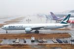 セブンさんが、関西国際空港で撮影したキャセイパシフィック航空 777-367/ERの航空フォト(飛行機 写真・画像)