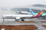 セブンさんが、関西国際空港で撮影したアシアナ航空 A350-941XWBの航空フォト(飛行機 写真・画像)
