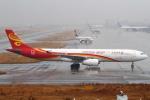 セブンさんが、関西国際空港で撮影した香港航空 A330-343Xの航空フォト(飛行機 写真・画像)
