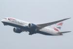 セブンさんが、関西国際空港で撮影したブリティッシュ・エアウェイズ 787-8 Dreamlinerの航空フォト(飛行機 写真・画像)