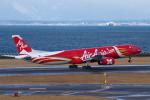 yabyanさんが、中部国際空港で撮影したエアアジア・エックス A330-343Eの航空フォト(飛行機 写真・画像)