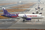 セブンさんが、関西国際空港で撮影した香港エクスプレス A320-232の航空フォト(飛行機 写真・画像)