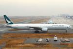 セブンさんが、関西国際空港で撮影したキャセイパシフィック航空 777-31Hの航空フォト(飛行機 写真・画像)