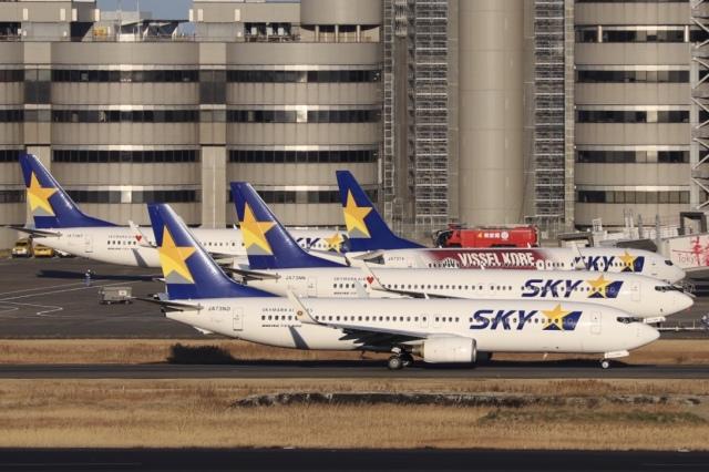 羽田 空港 スカイマーク 到着