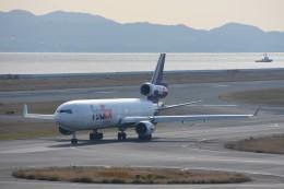 kozikoziさんが、関西国際空港で撮影したフェデックス・エクスプレス MD-11Fの航空フォト(飛行機 写真・画像)