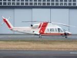 otromarkさんが、八尾空港で撮影した朝日航洋 S-76Dの航空フォト(飛行機 写真・画像)